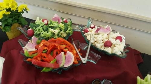 Vegetable Display- Catering