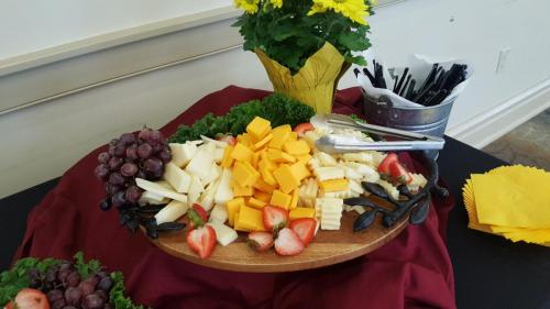 Cheese and Fruit Tray- Catering